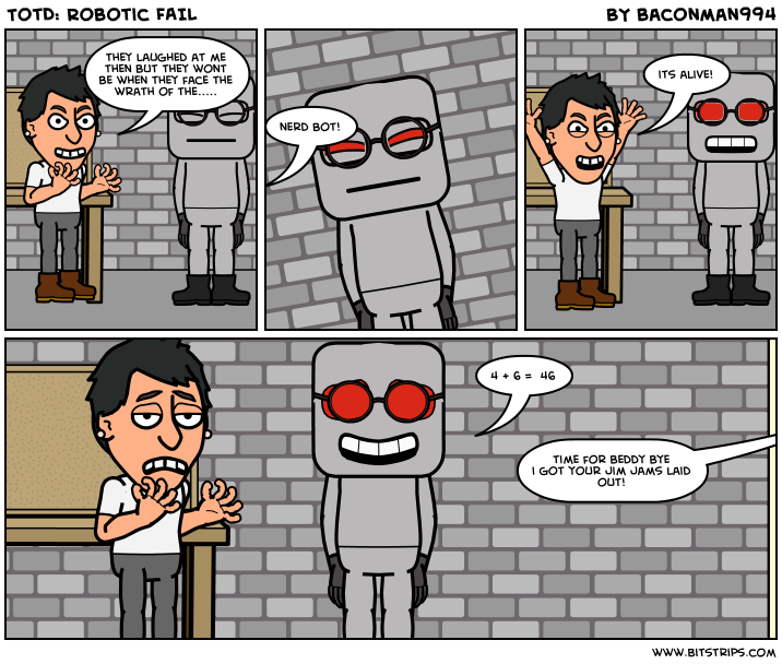 TotD: Robotic FAIL