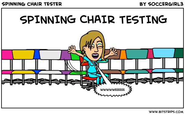 spinning chair tester
