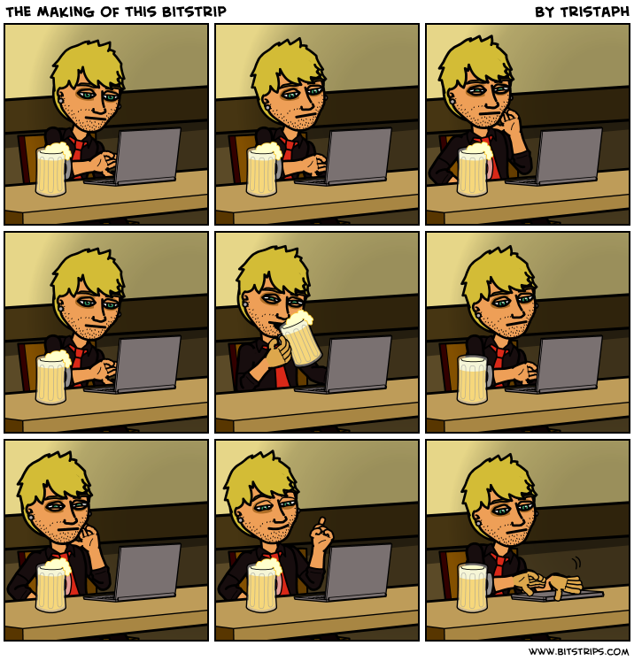 The Making of this Bitstrip