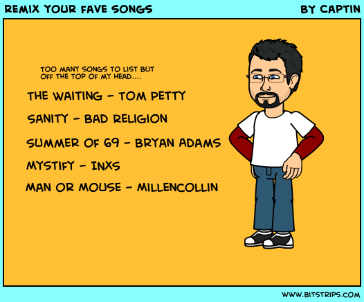 remix your fave songs