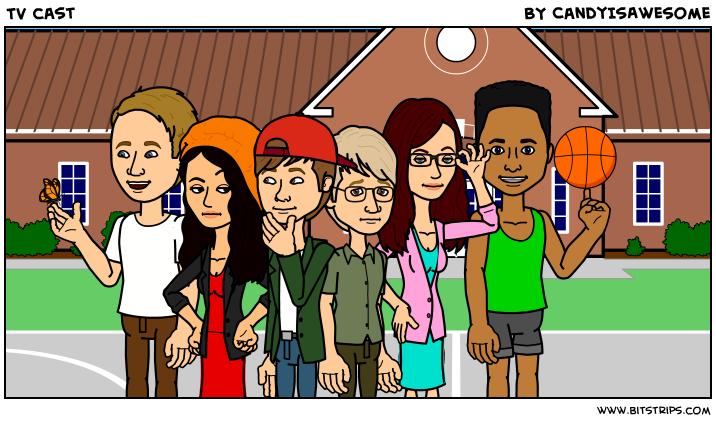 TV cast