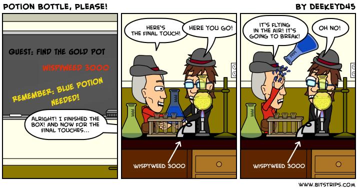 Potion Bottle, Please!