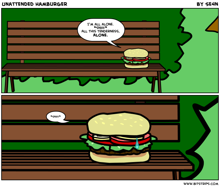 Unattended Hamburger