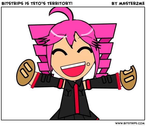 Bitstrips is Teto's Territory!