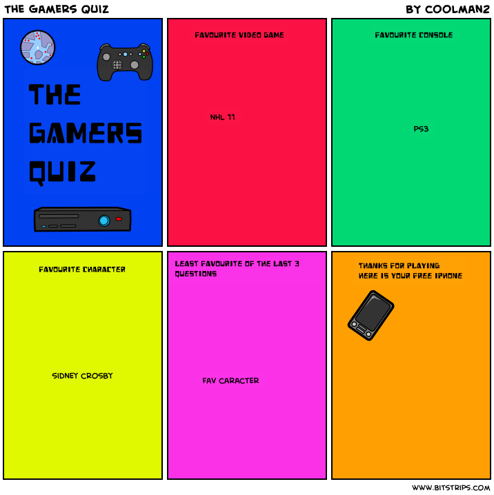 The Gamers Quiz