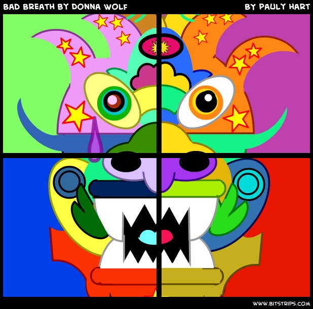 Bad Breath by Donna Wolf