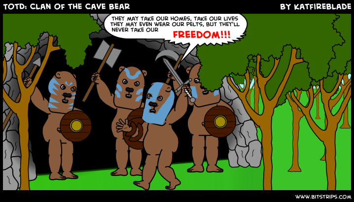 TotD: Clan of the Cave Bear