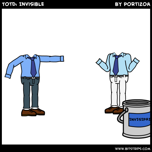 TotD: Invisible