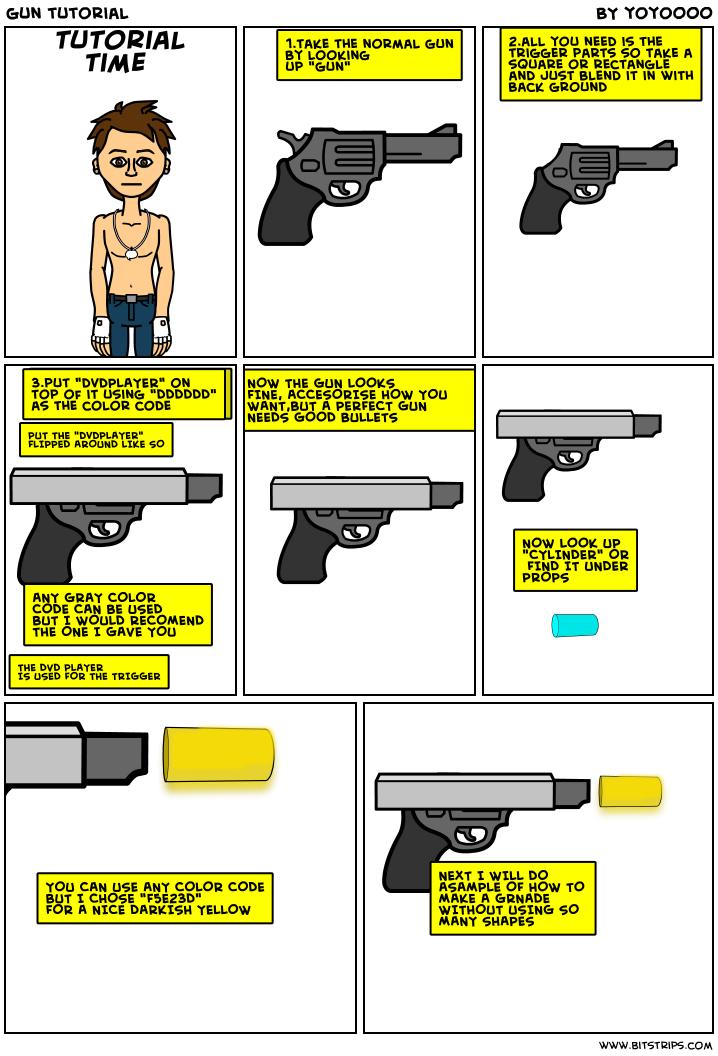gun tutorial