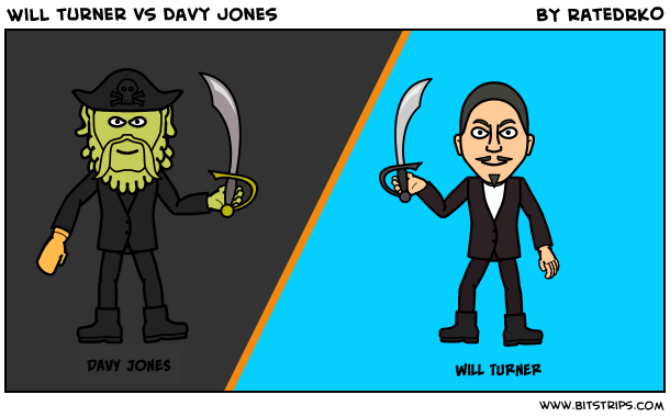 Will turner vs Davy jones