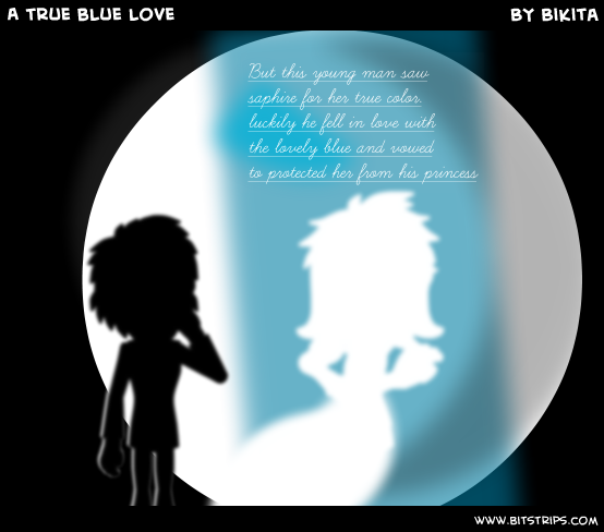 A true blue love