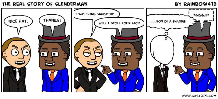 Slenderman Story The Real Story of Slenderman