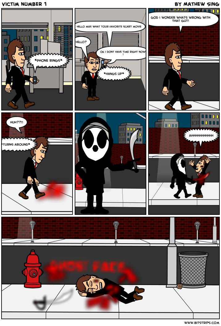 Victim number 1