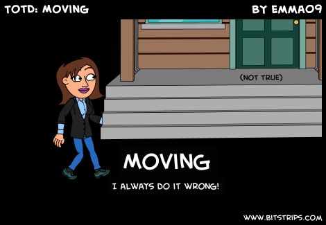 TotD: Moving
