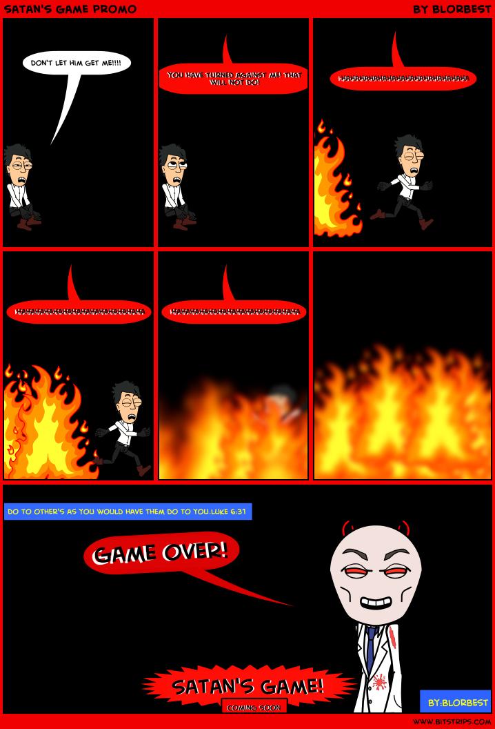 satan's game promo