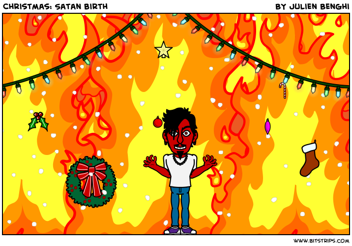 Christmas: Satan birth