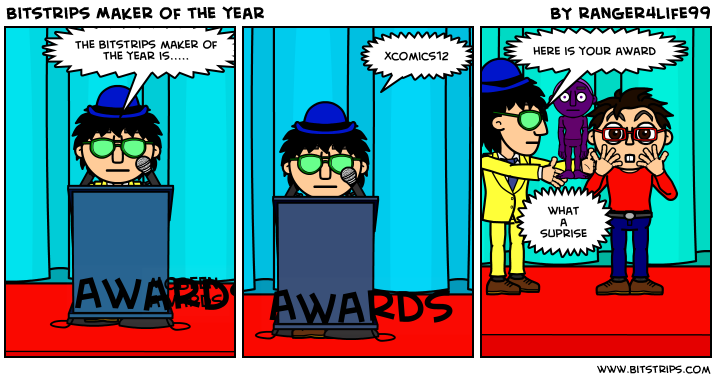 Bitstrips Maker of the year