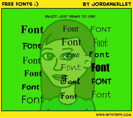 Free Fonts :)