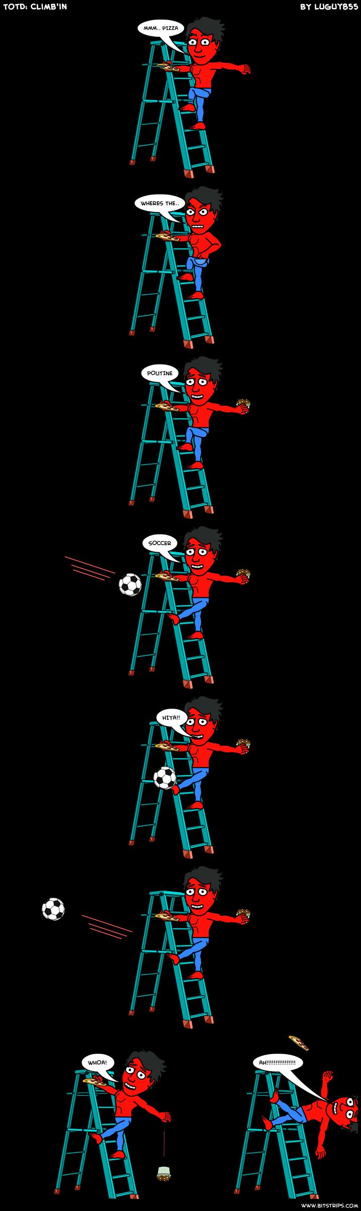 TotD: Climb'in