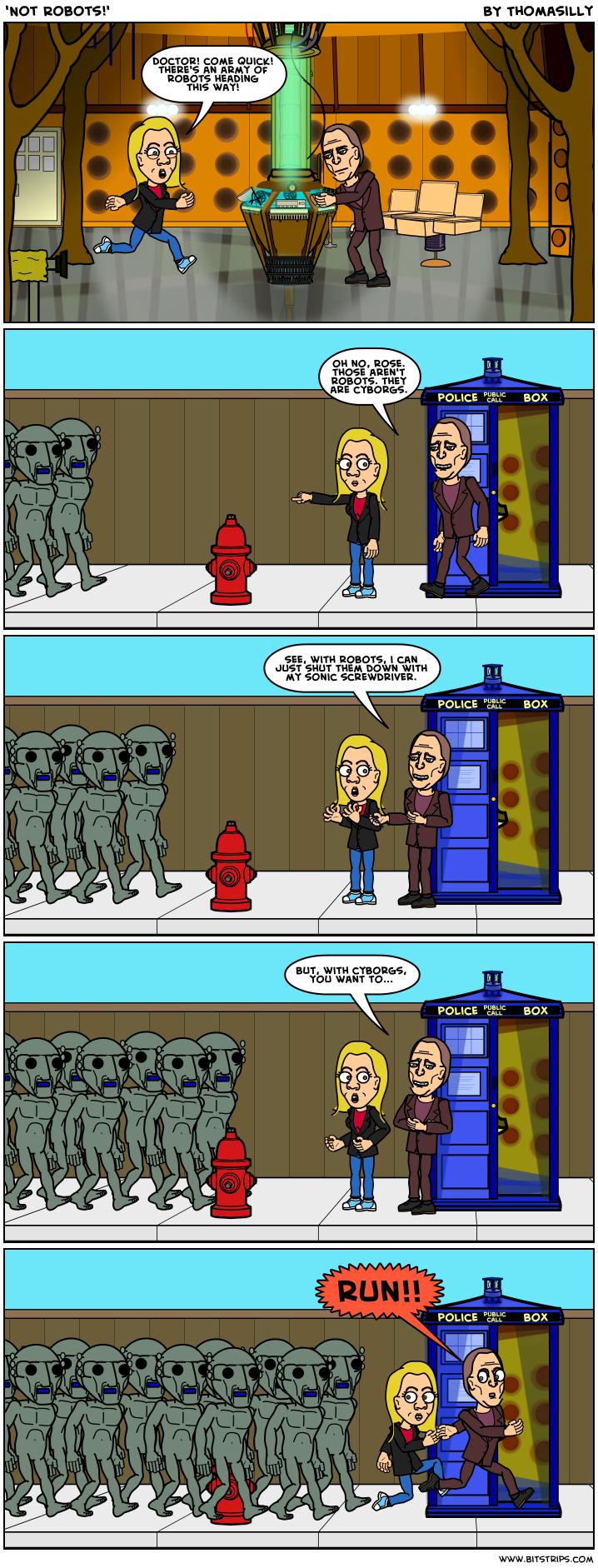 'Not Robots!'