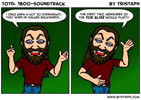 TotD: 1800-Soundtrack