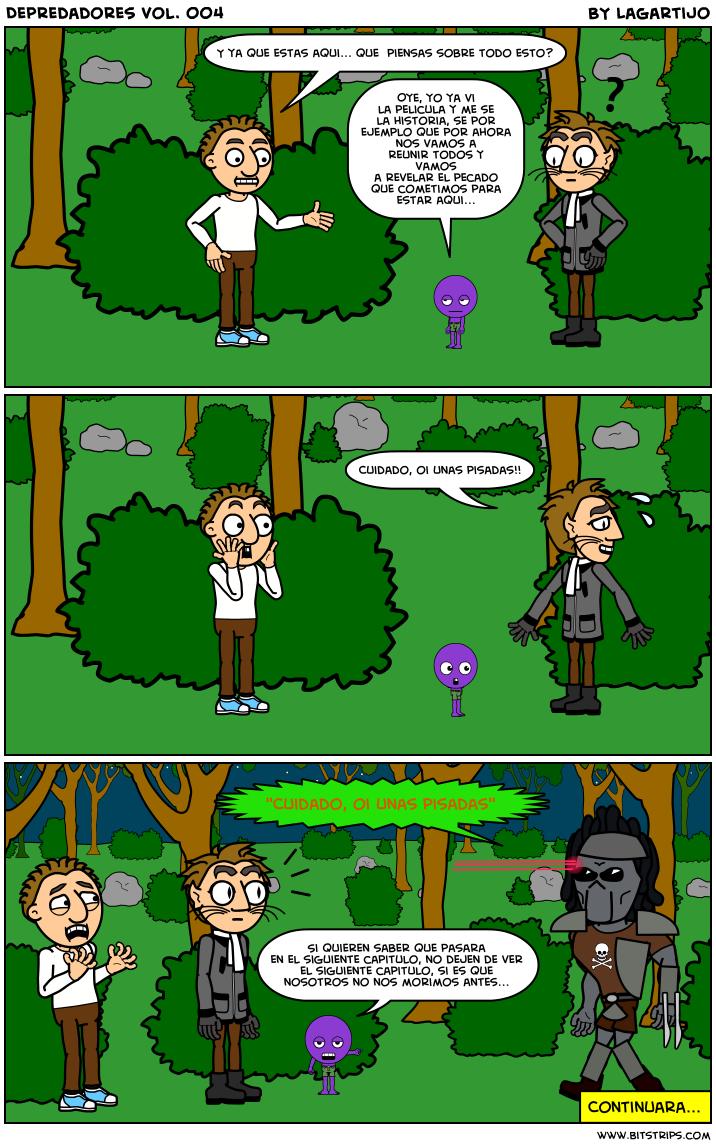 Depredadores Cómic ZNTDL_HPPW