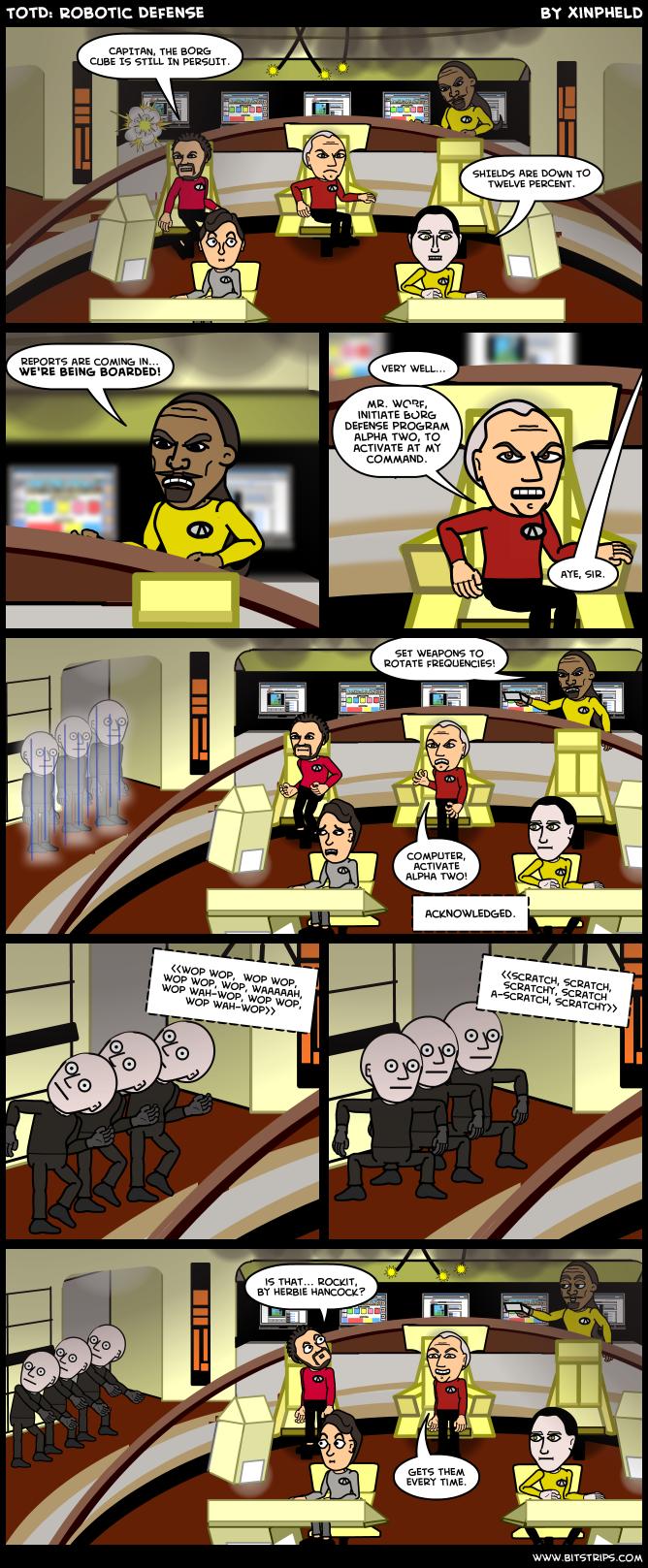 TotD: Robotic Defense