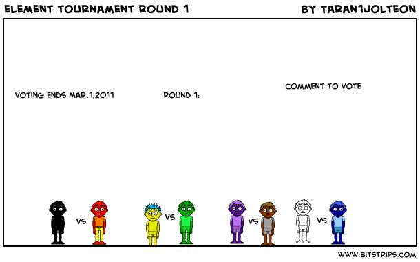 element tournament round 1