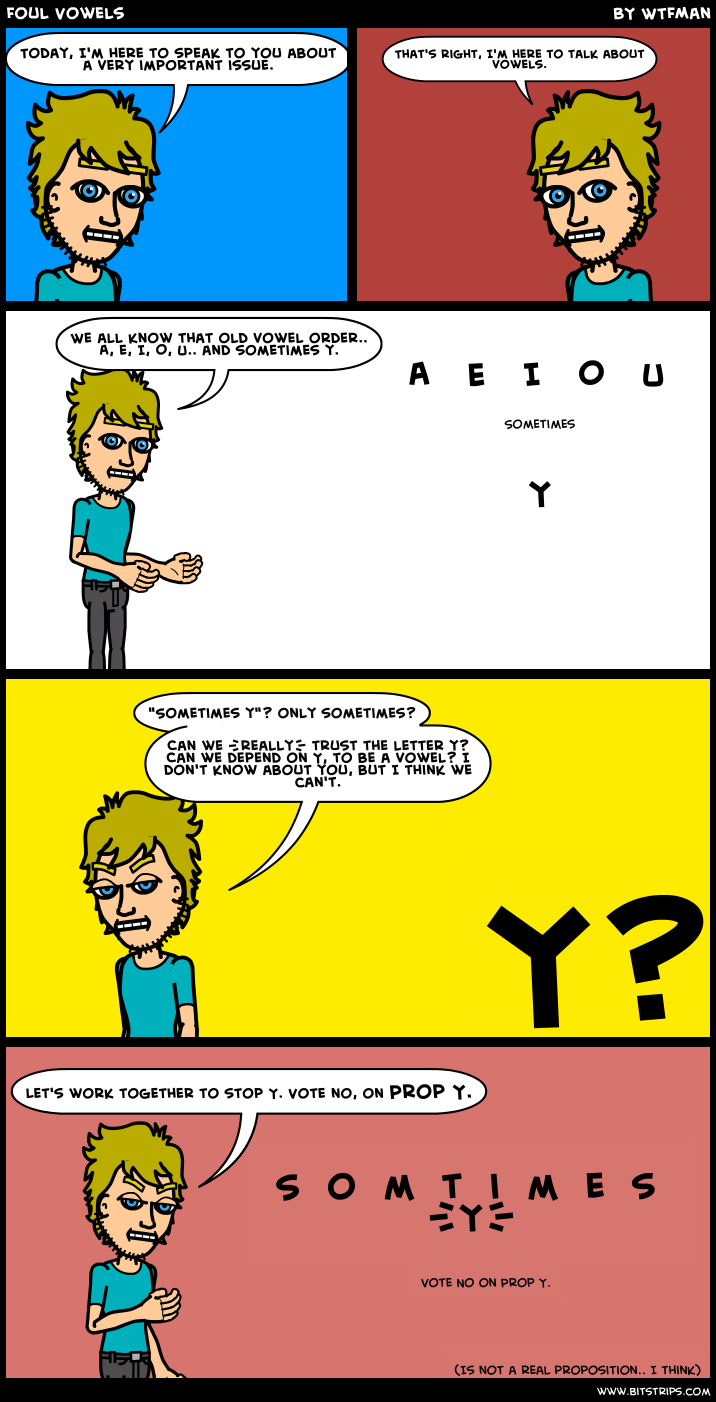 Foul Vowels