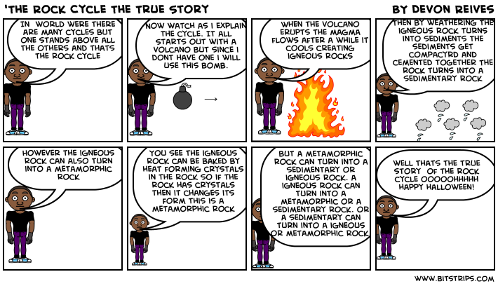 'The Rock Cycle The True Story