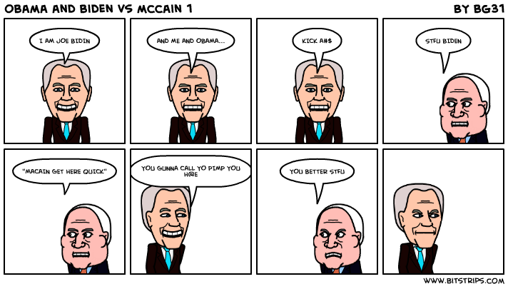 obama and biden vs mccain 1