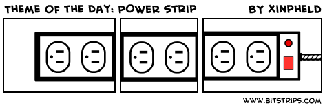 Theme of the Day: POWER strip