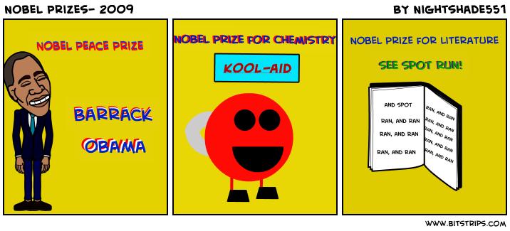 Nobel Prizes- 2009