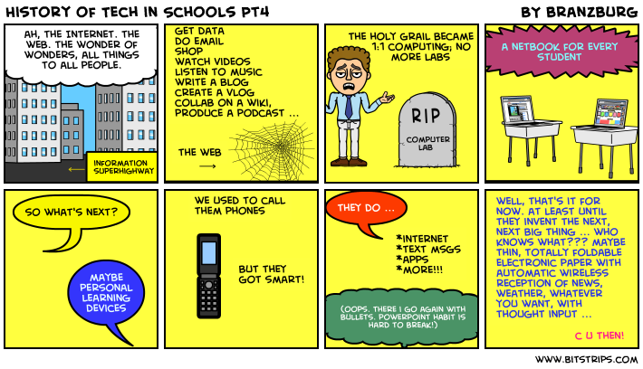 History of Tech in Schools Pt4