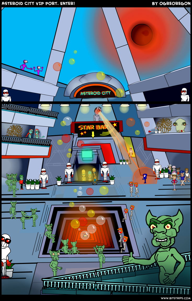 Asteroid City VIP Port. Enter!