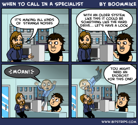 When To Call In A Specialist