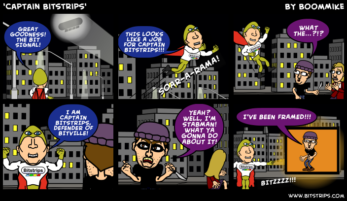 'Captain Bitstrips'
