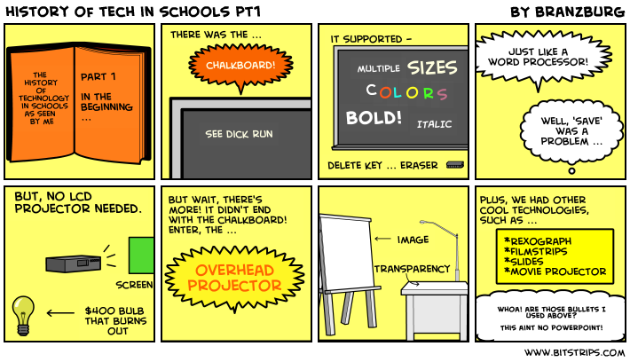 history of tech in schools pt1