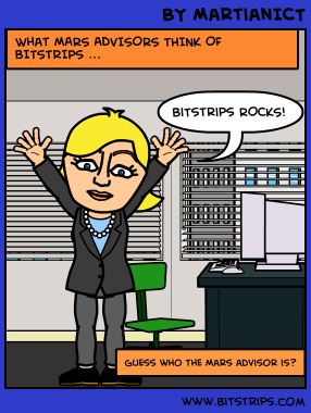 Bitstrips comic