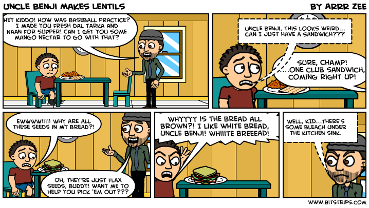 Uncle Benji Makes Lentils