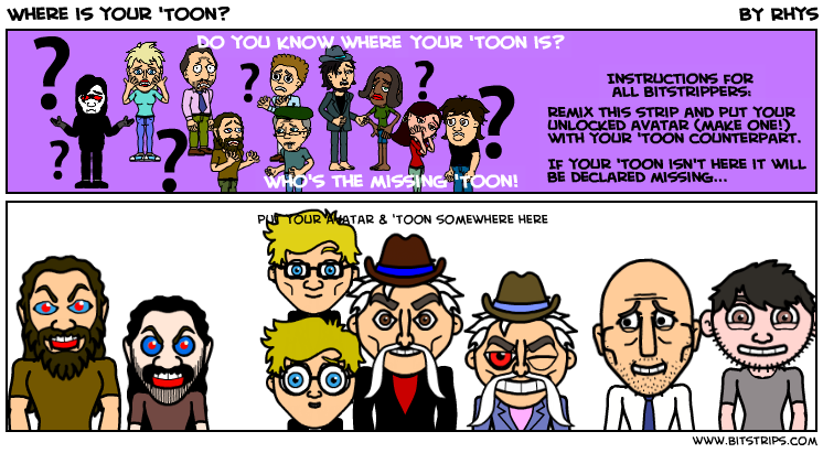 Where is your 'Toon?