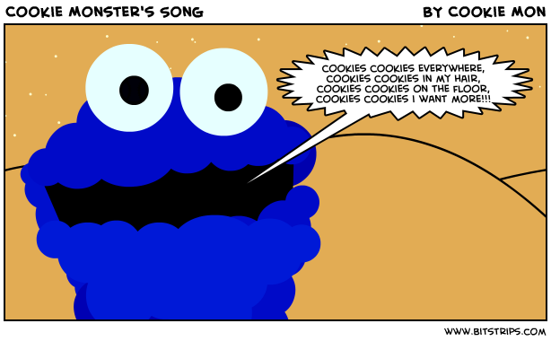 cookie monster song - 614×380