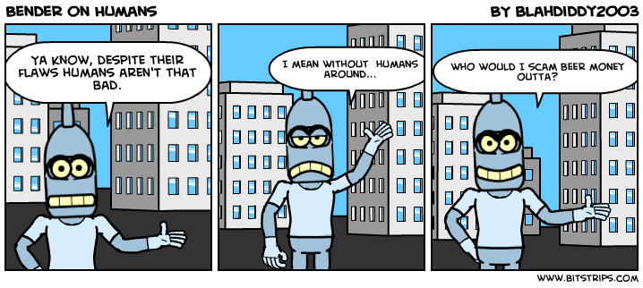 Bender on Humans