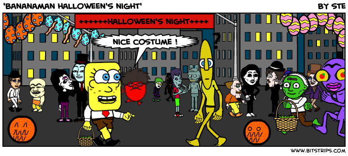 'bananaman halloween's night'