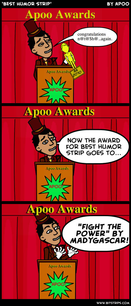 'Best Humor strip'
