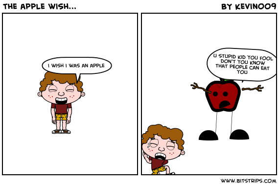 the apple wish...
