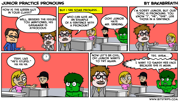 Junior Practice Pronouns