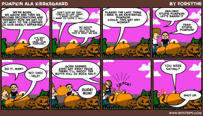 Pumpkin ala Kierkegaard