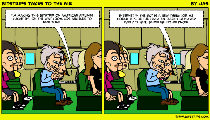 Bitstrips Takes to the Air