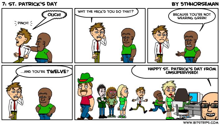 7: St. Patrick's Day